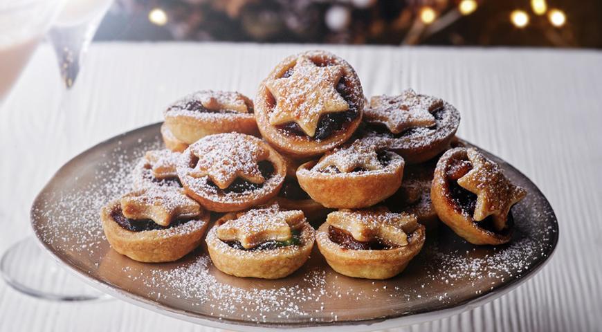 Английское рождественское печенье, пошаговый рецепт с фото