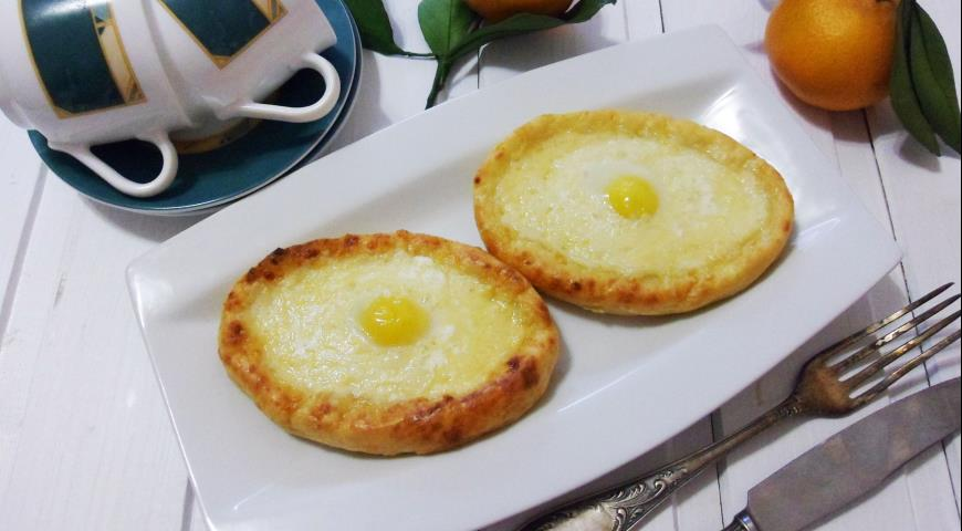 Сырники а-ля хачапури, пошаговый рецепт с фото