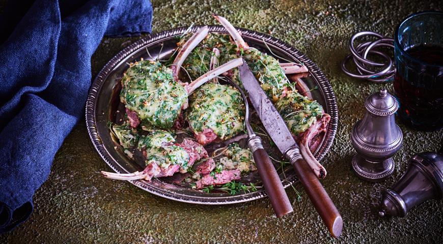 Швейцарские бараньи отбивные с сырной корочкой, пошаговый рецепт с фото