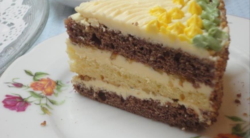 Мамин торт, пошаговый рецепт с фото