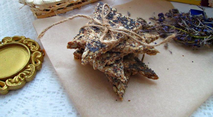 Злаковые хлебцы, пошаговый рецепт с фото