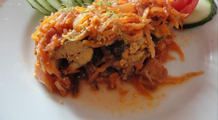 Рыба в маринаде, пошаговый рецепт с фото