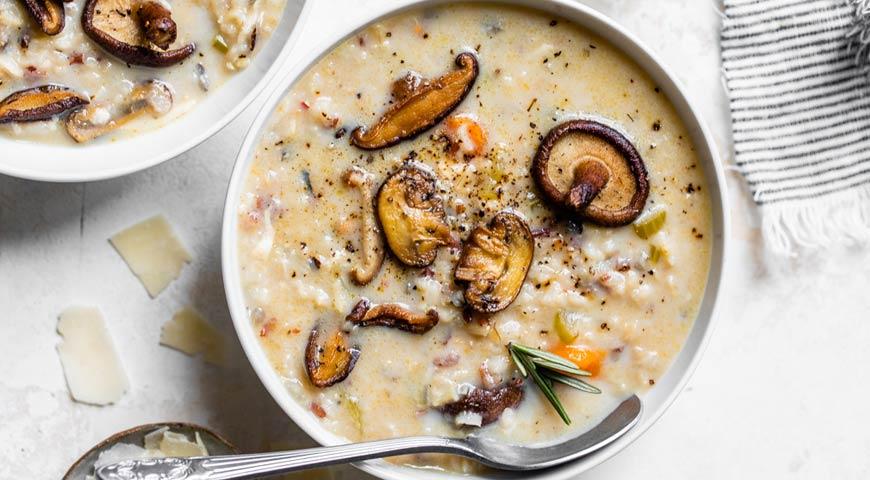 Суп из дикого риса в мультиварке, пошаговый рецепт с фото