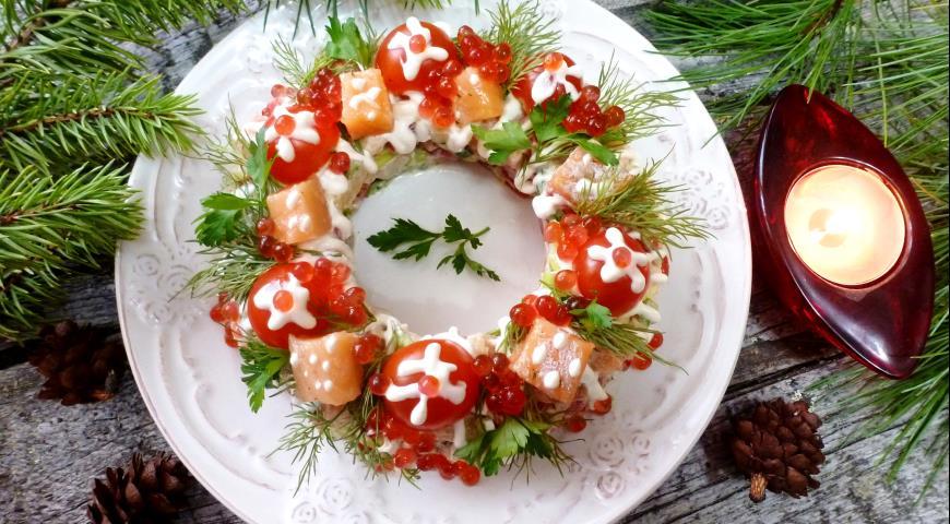 """Салат """"Русские традиции"""", пошаговый рецепт с фото"""
