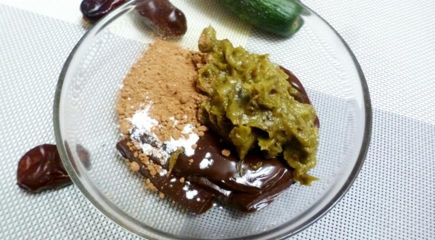 Шоколадные трюфели с авокадо и финиками, пошаговый рецепт с фото