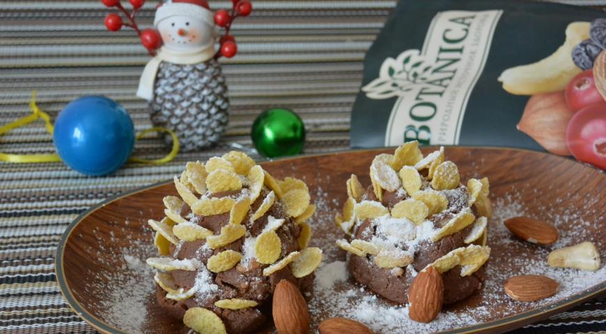 Пирожное Шишки, пошаговый рецепт с фото