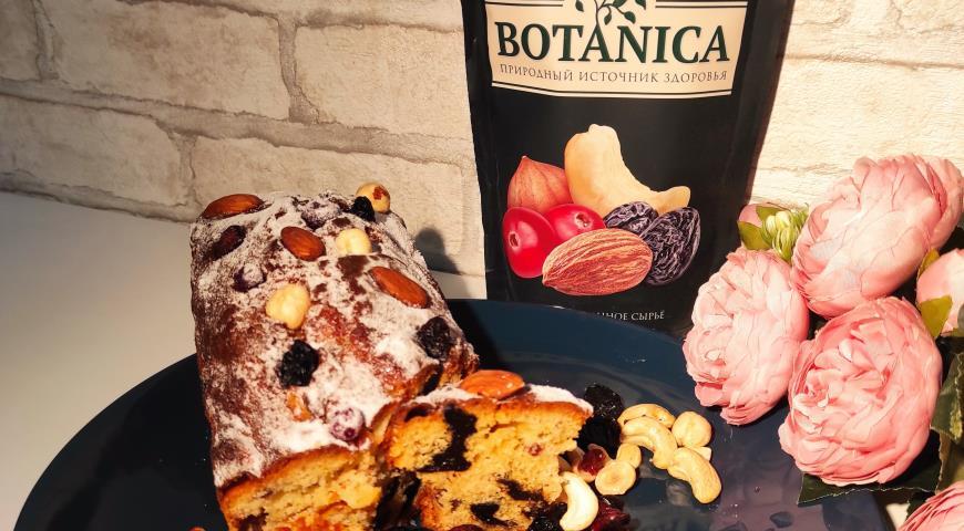Кекс с фруктово-ореховой смесью, пошаговый рецепт с фото