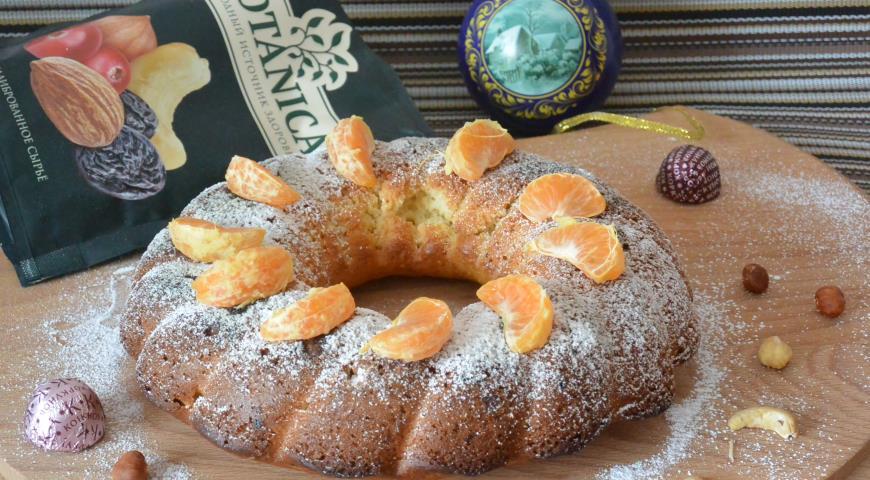 Ореховый кекс, пошаговый рецепт с фото