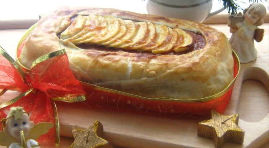 Яблочная сфольята, пошаговый рецепт с фото