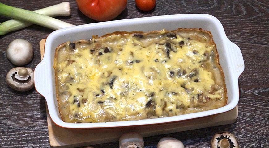 Тефтели с грибным соусом, пошаговый рецепт с фото