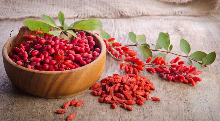 Правда, что барбарис и ягоды годжи это одно и то же