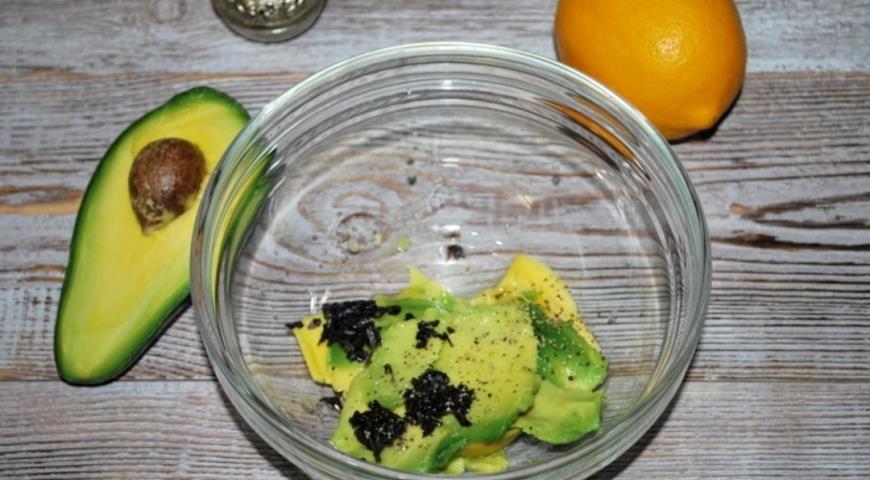 Салат из авокадо с креветками, пошаговый рецепт с фото