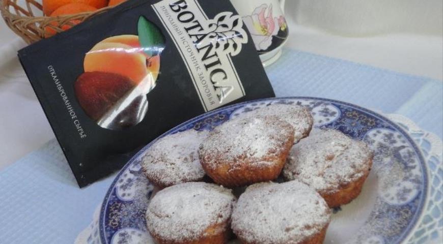 Абрикосовые кексы, пошаговый рецепт с фото