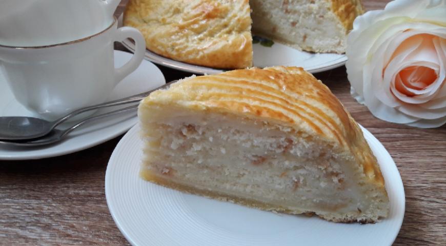 Торт Кьянчано, пошаговый рецепт с фото
