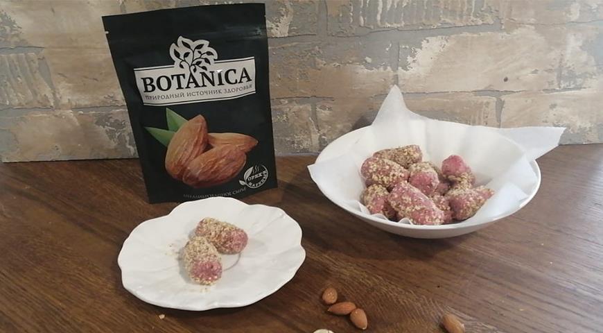 Домашние конфеты Беличья радость с миндалем, пошаговый рецепт с фото