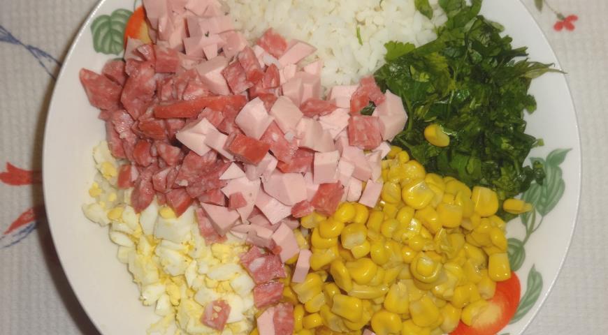 Закусочный рулет из лаваша, пошаговый рецепт с фото