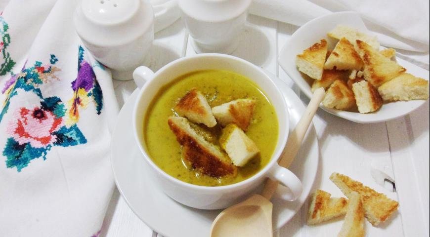 Суп-пюре из чечевицы, пошаговый рецепт с фото