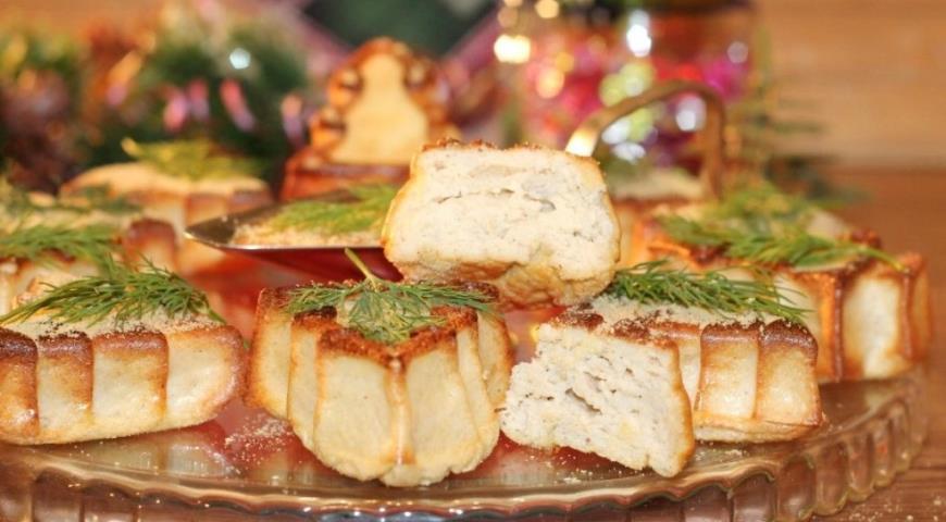 Мясное суфле с горчичным соусом, пошаговый рецепт с фото