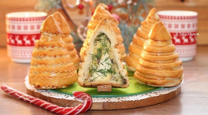 Пирожки румяные Елочки, пошаговый рецепт с фото