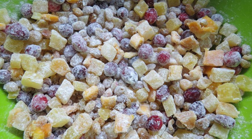 Творожно-миндальный штоллен, пошаговый рецепт с фото