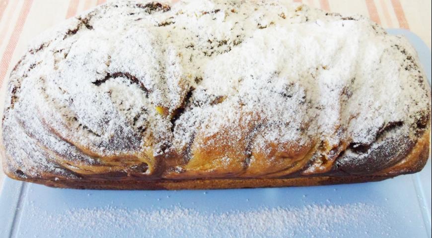 Мраморный тыквенный кекс, пошаговый рецепт с фото