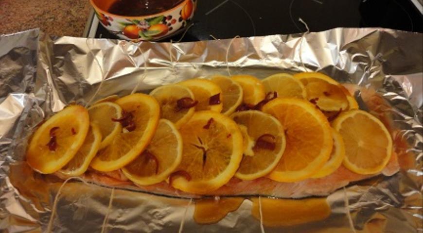 Лосось по-императорски, пошаговый рецепт с фото