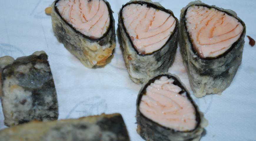 Салат с лососем, шпинатом и манго, пошаговый рецепт с фото