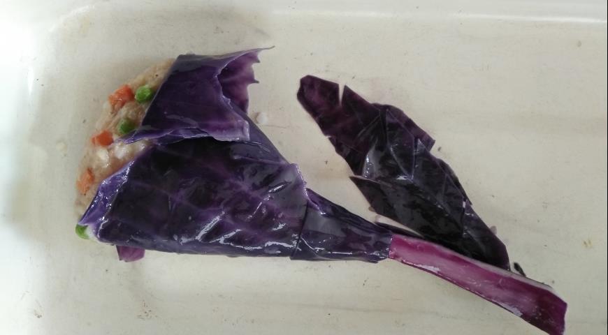 Букет из голубцов, пошаговый рецепт с фото