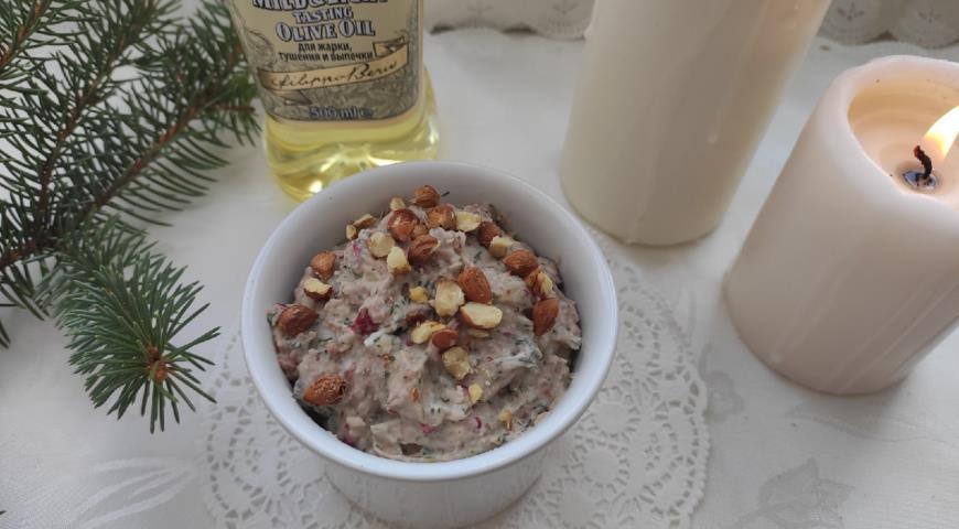 Паштет из фасоли с фундуком, пошаговый рецепт с фото