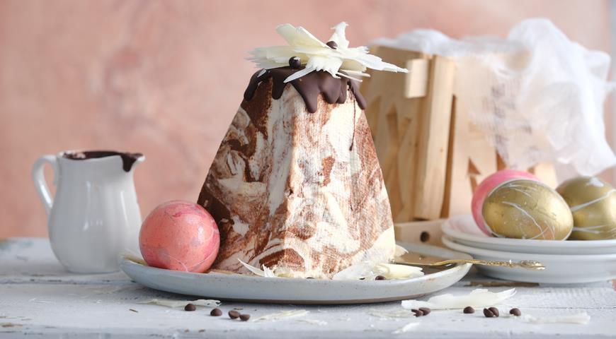 Мраморная пасха, пошаговый рецепт с фото