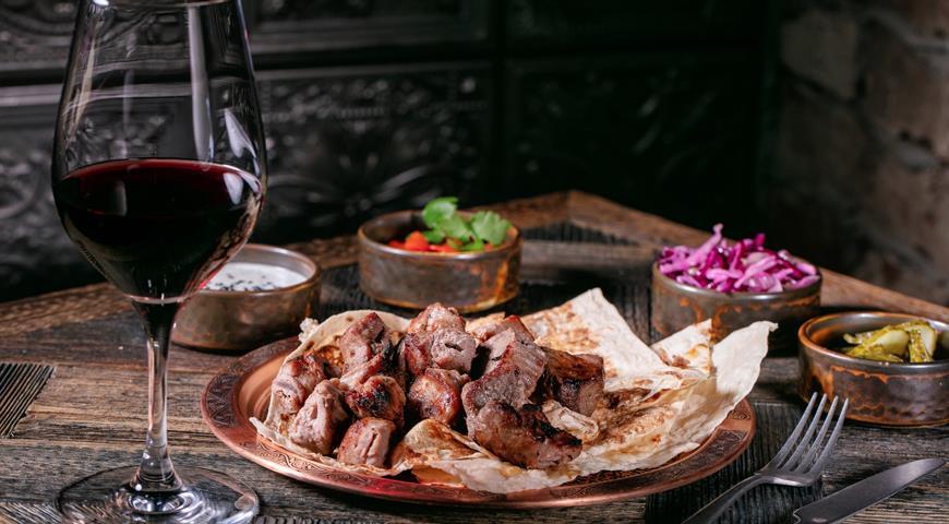 Шашлык из говядины, пошаговый рецепт с фото