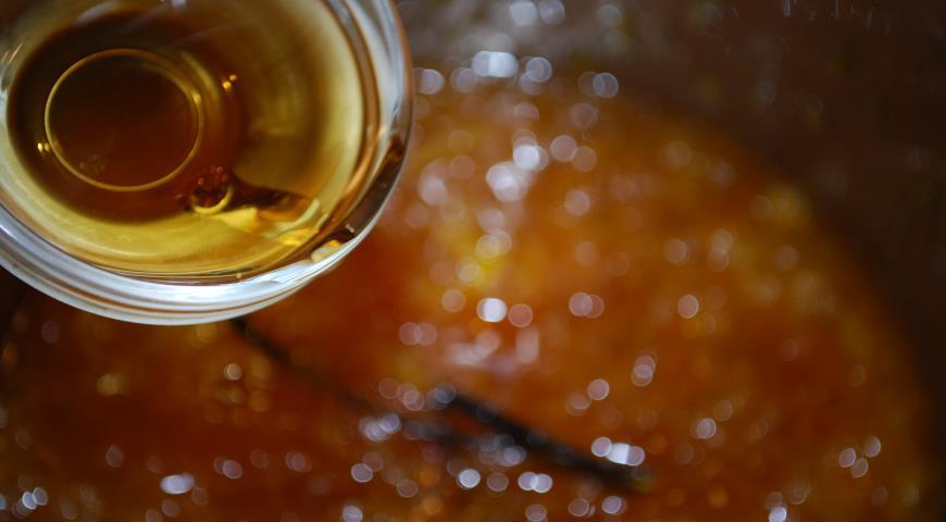 Конфитюр из апельсинов с ромом и ванилью, пошаговый рецепт с фото