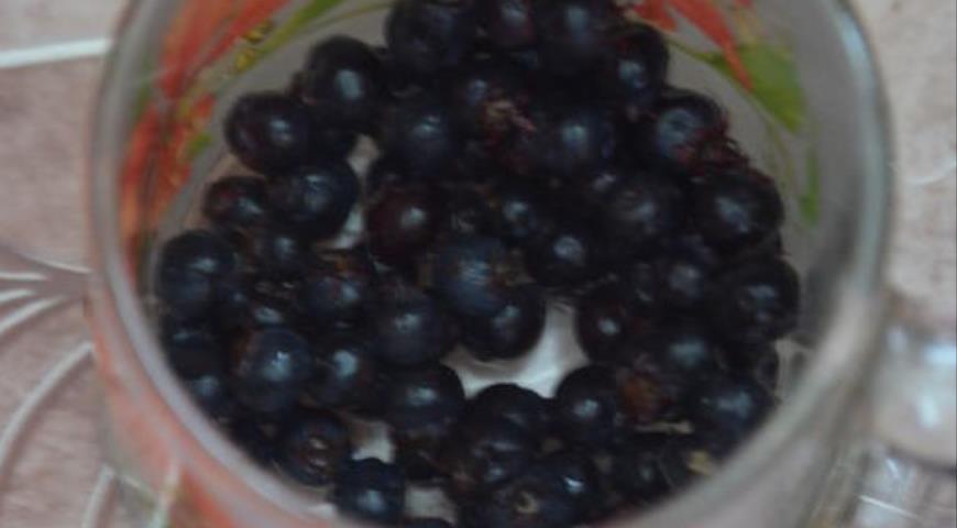 Грейпфрутовый  фруктовый лед с иргой, пошаговый рецепт с фото