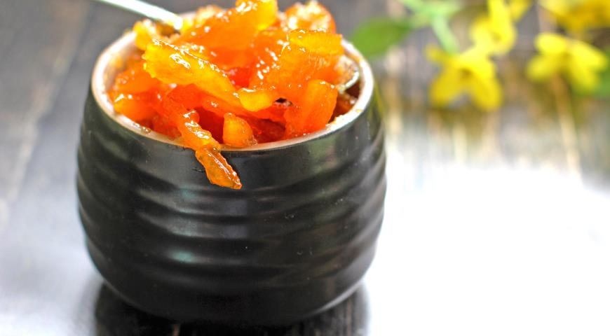 Цукаты апельсиновые, пошаговый рецепт с фото