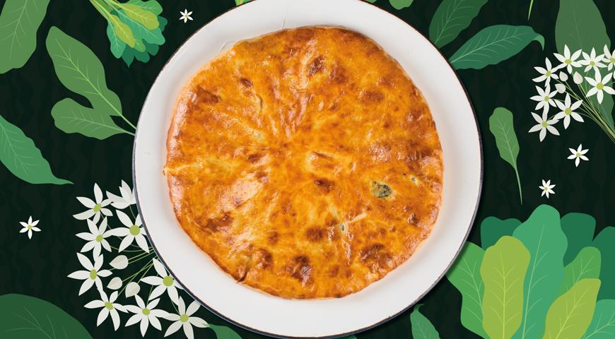 Пирог со щавелем , пошаговый рецепт с фото