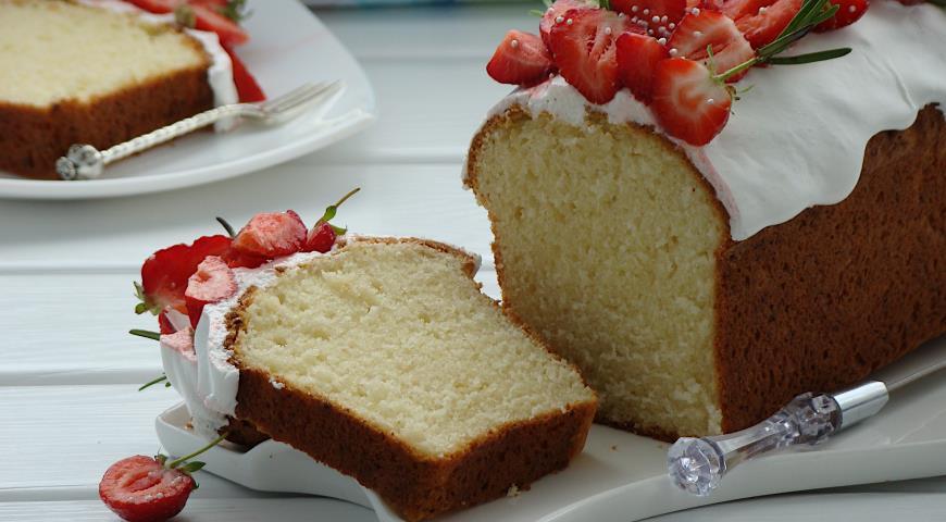 Простой творожный кекс, пошаговый рецепт с фото