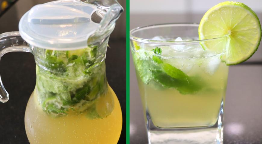 Домашний лимонад Мохито, пошаговый рецепт с фото