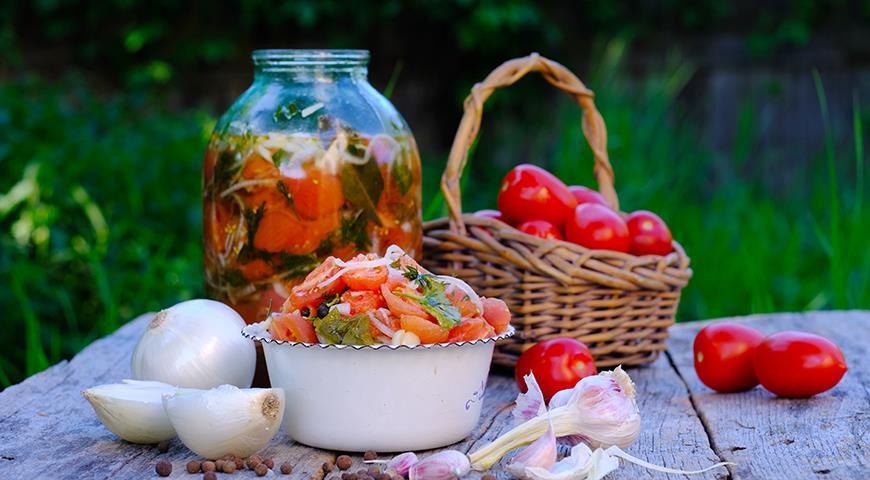 Маринованные помидоры от шефов братьев Березуцких (почти по маминому рецепту), пошаговый рецепт с фото