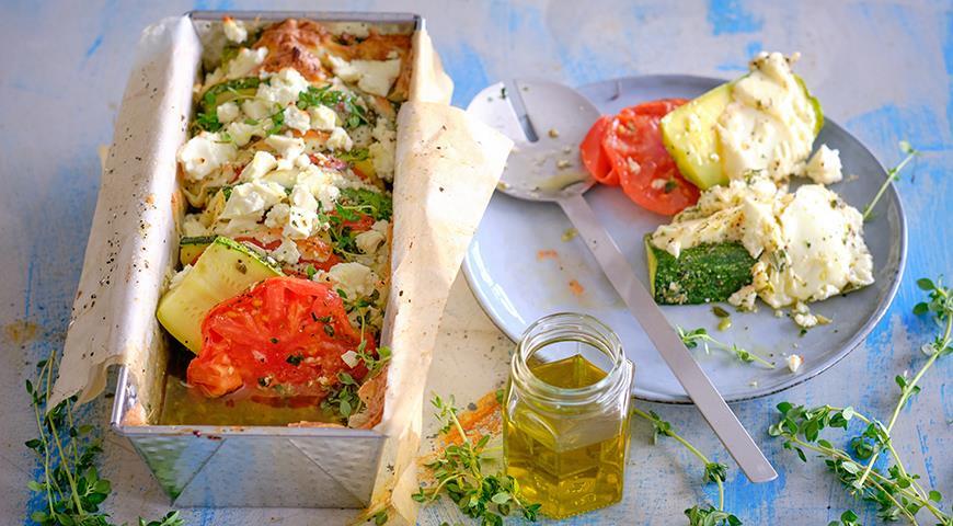 Закуска из кабачков с помидорами и сыром, пошаговый рецепт с фото