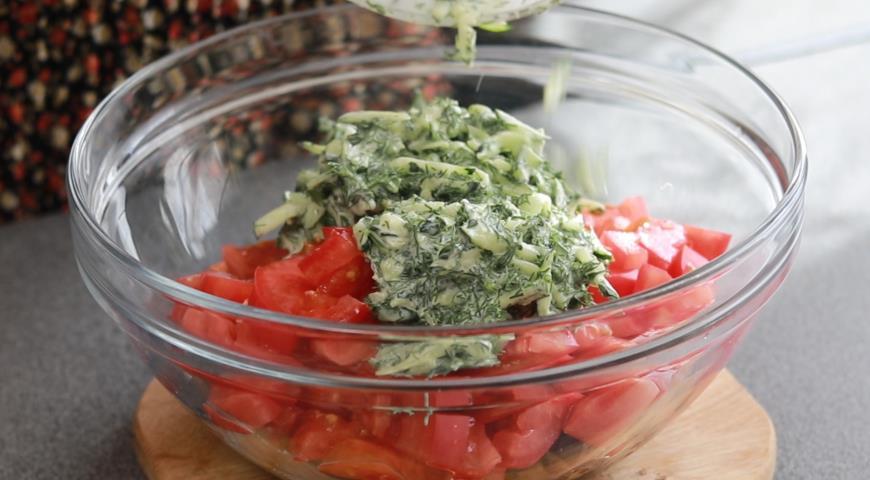 Салат из баклажанов Дачный, хит сезона, пошаговый рецепт с фото