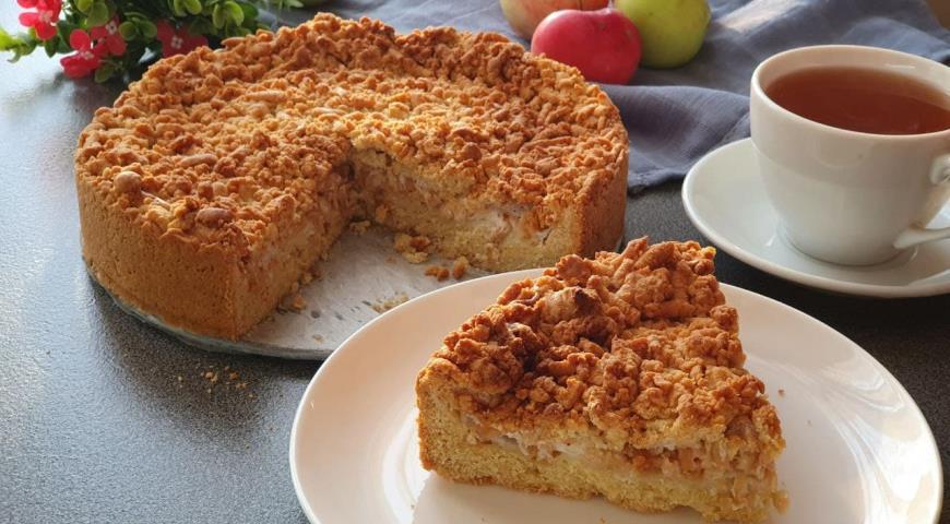Яблочный пирог Мечта, пошаговый рецепт с фото