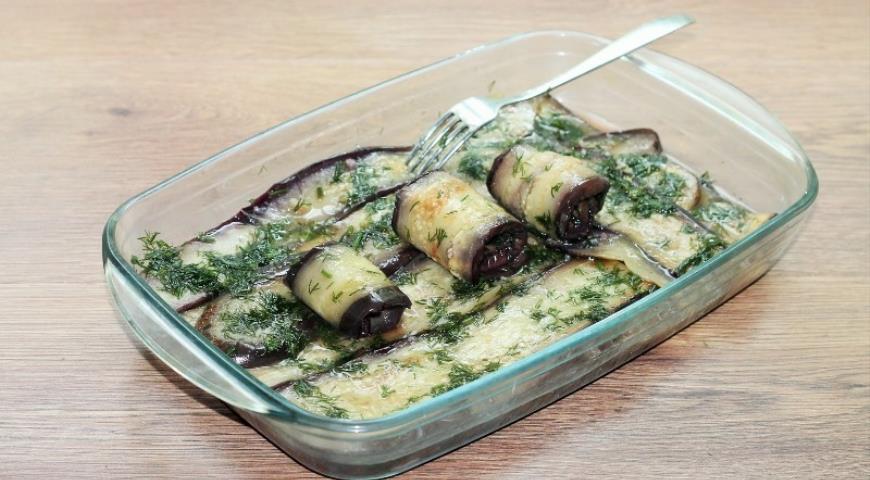 Маринованные баклажаны в укропной заливке, пошаговый рецепт с фото