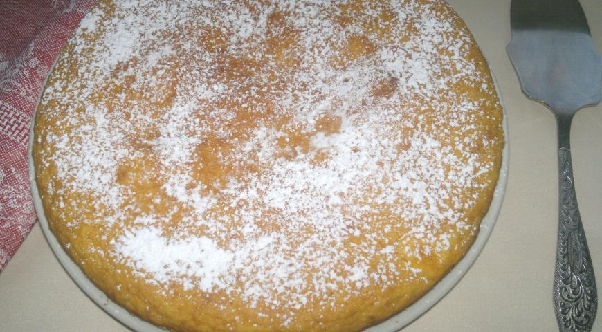 Пирог с тыквой, пошаговый рецепт с фото