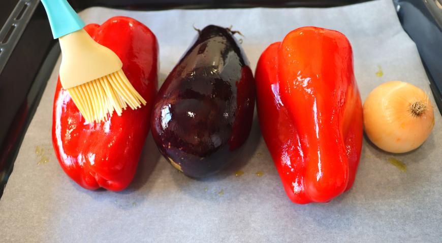 Печеные овощи, пошаговый рецепт с фото