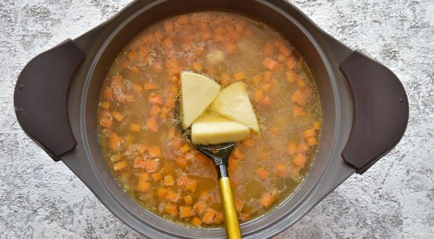 Чизбургер суп, пошаговый рецепт с фото
