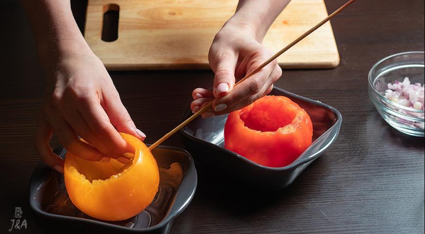 Запеченные помидоры, пошаговый рецепт с фото