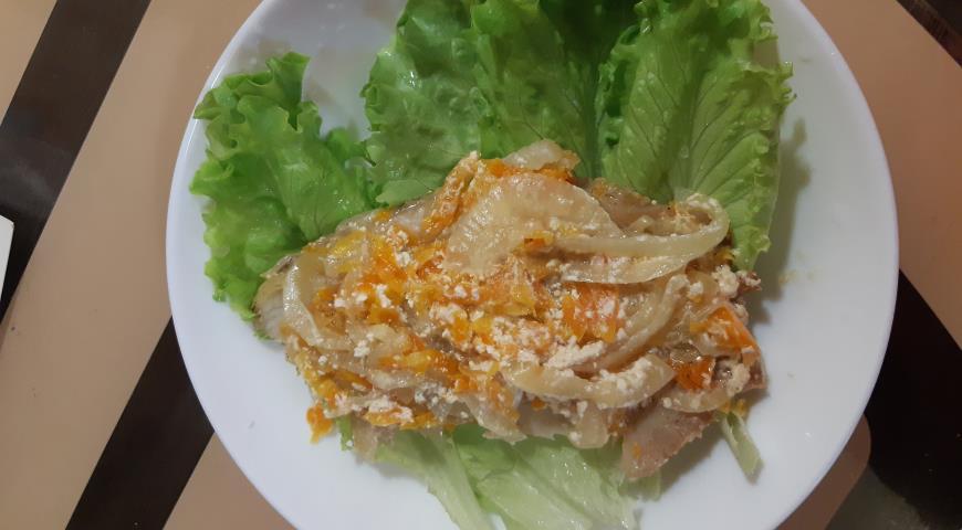 Тилапия в сливочном соусе, пошаговый рецепт с фото