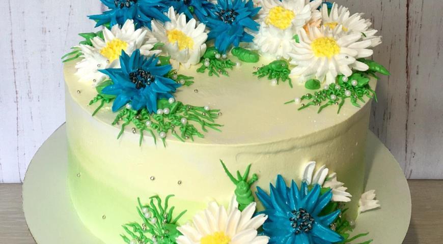 Торт Ромашки, пошаговый рецепт с фото