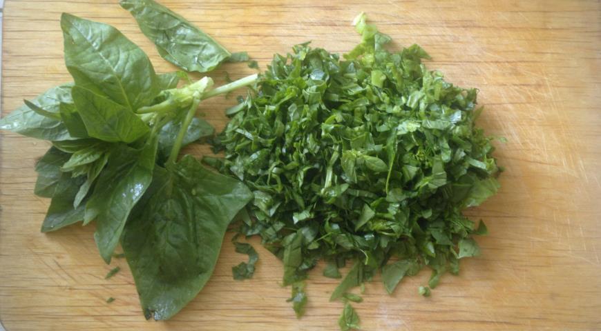 Овощная запеканка со шпинатом в сливочной заливке, пошаговый рецепт с фото