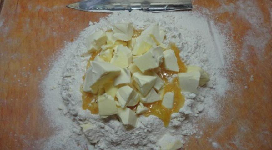 Песочные пирожные с яблоками, пошаговый рецепт с фото